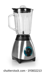 electric blender on a white background