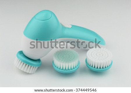 electric brush cleanser