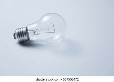 electric bulb on the white table