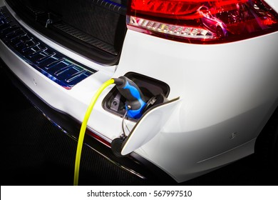 Electric car charging energy in station