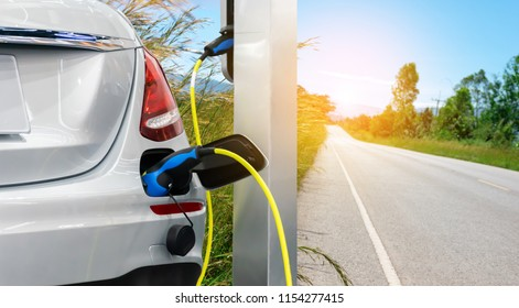 Electric car renewable energy the future