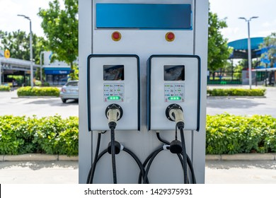 Electric charge stations for electric cars