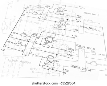 electrical drawing images stock photos vectors shutterstock Meter to Breaker Box Wiring electric circuit black on a white background fragment
