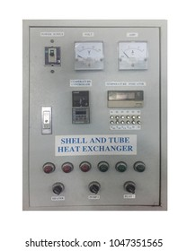 Electric control box Shell and tube heat exchanger
