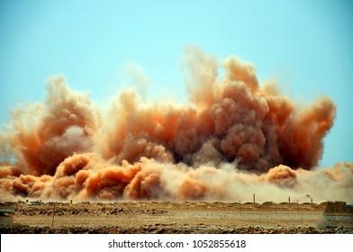 Electric detonator blasting