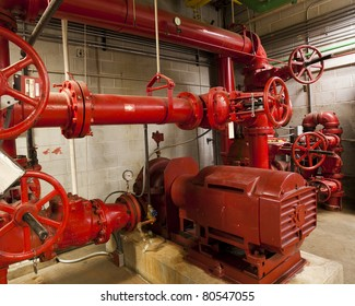 Electric driven fire pump for a high rise building