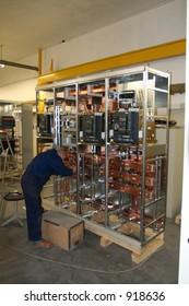Electric enclosure installation