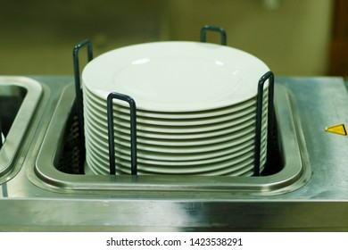 electric food plate warmer with plates
