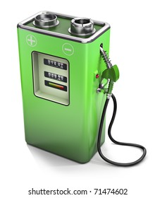 Electric fuel pump, electric energy concept