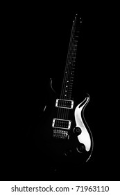 Black Guitar Images Stock Photos Vectors Shutterstock