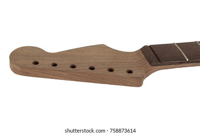 Electric Guitar Neck Natural Isolated