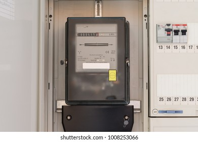Electric meter in a fuse box