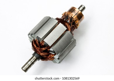 electric motor on a white background