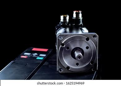 Electric motors (AC servo motor, DC brush-less motor, and stepping motor)