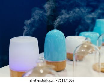 Electric oil diffusers on exhibition or shop