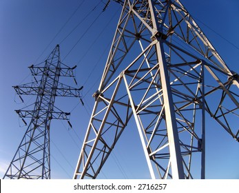 Electric power line, industrial lightbox-2