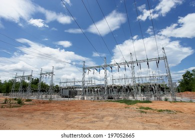 Electric power substation, High voltage switchgear