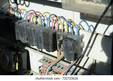 electric power switch in fuse board