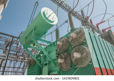 Electric power transformer oil tank