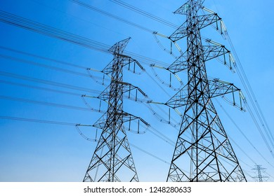 Electric Pylons background