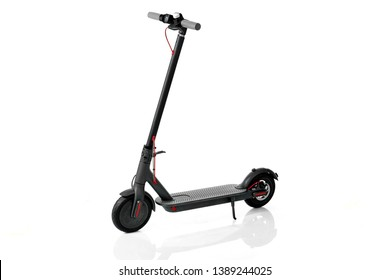 Electric Scooter. Electric Scooter on a white background. Electric transport.
