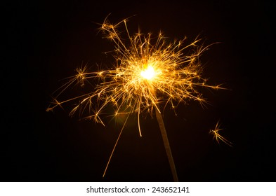 Electric sparklers background
