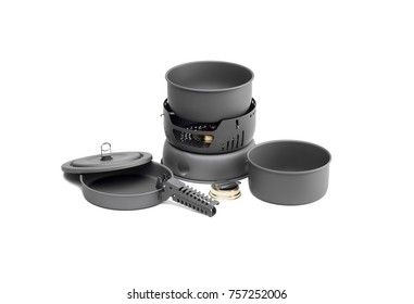 electric stove with cooking pot