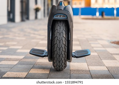 Electric Unicycle Ninebot Z10 Standing On Street