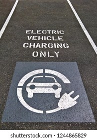 Electric Vehicle Charging Parking Spot