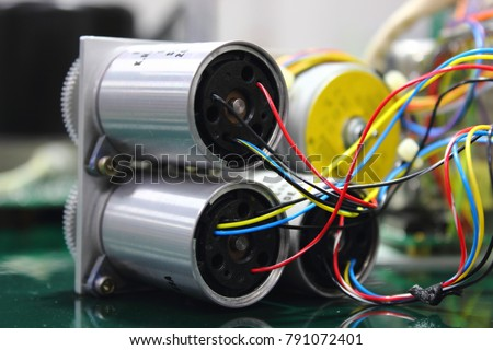 Pleasing Electric Wire Connect Into Servo Motor Stock Photo Edit Now Wiring 101 Xrenketaxxcnl