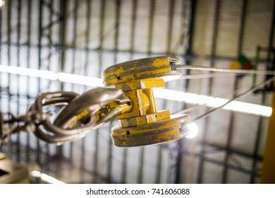 Electric Hoist Images Stock Photos Amp Vectors Shutterstock