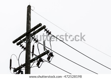 Electric Wire South Thailand Stock Photo Edit Now 472528198