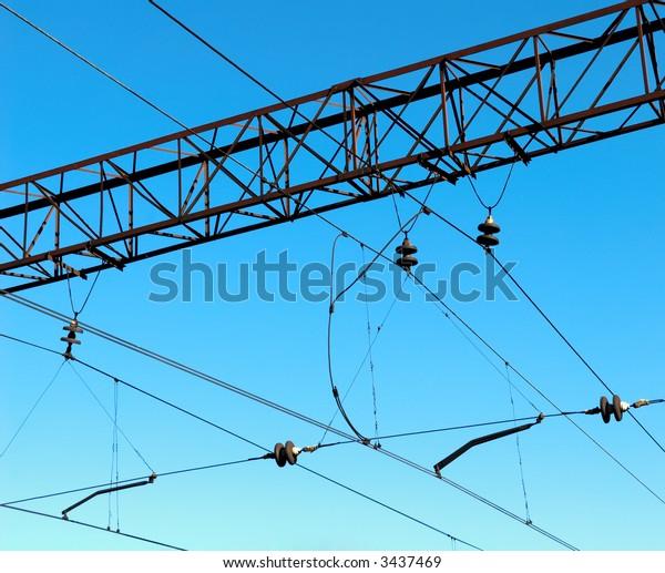 Electric wiring web