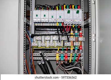electrical box images stock photos vectors shutterstock rh shutterstock com wiring terminal boards best practice wiring terminal block for 12 volt ebay