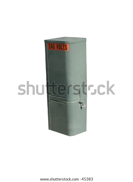 An electrical cabinet for underground wiring