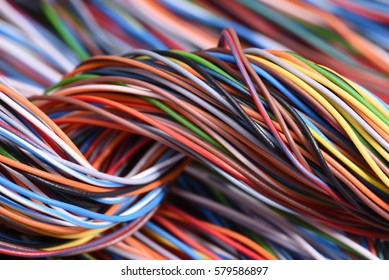 Electrical Colorful Cables and Wires