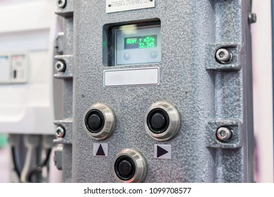 Electrical control panel, control display. Explosion proof