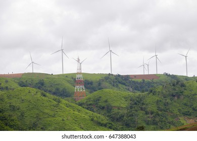 Electrical energy,Wind power plant,Environmentally friendly.