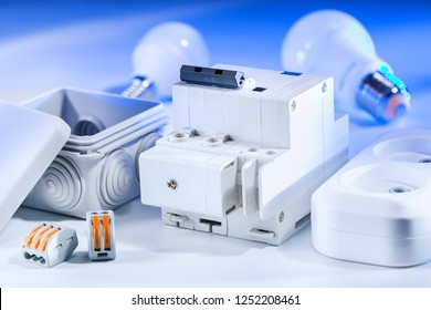 Electrical equipment, for repair of electric systems. Electrical background.