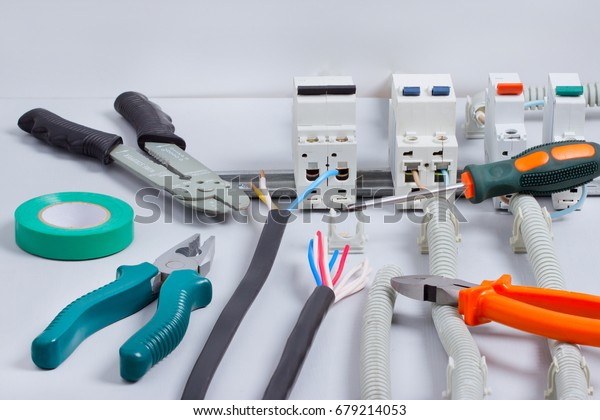 electrical equipmenttoolscables fuse box stock photo edit now electrical equipment tools cables in fuse box