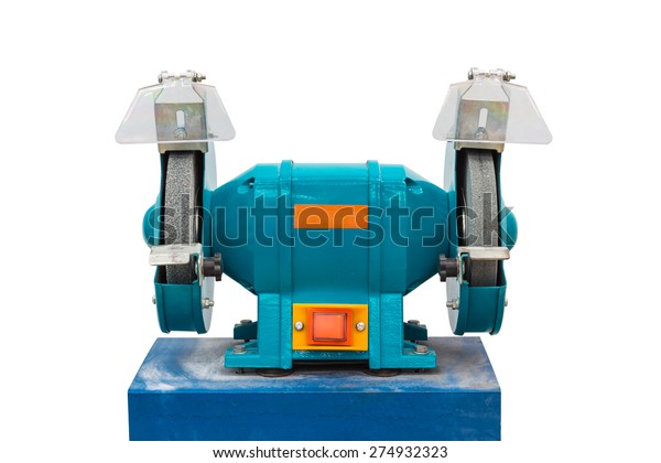Incredible Electrical Grinding Machine Bench Grinder Isolated Stock Ibusinesslaw Wood Chair Design Ideas Ibusinesslaworg