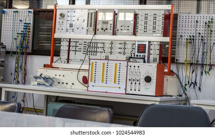 Electrical laboratory And testing equipment.