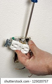 Electrical outlet replacement and repair