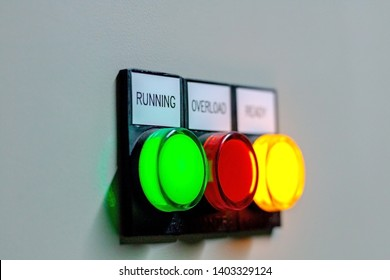 Electrical panel  and Light botton switch in control Room