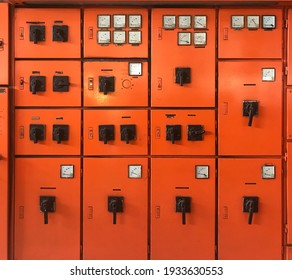 electrical panels at the factory