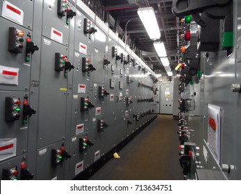 Electrical power switchgear room, Power control station module,
