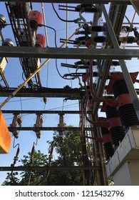 Electrical power transmission networks are protected and controlled by High Voltage Circuit Breaker inside electrical grid substaion.