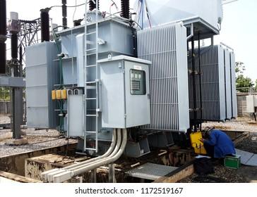 Electrical Preventive Maintenance On Site : Power Transformer Turn Ratio Testing
