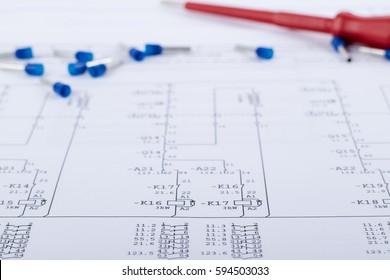 Electrical Schematics with Screwdriver