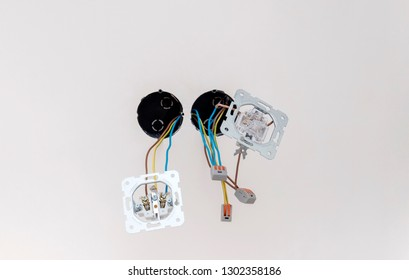 Imágenes, fotos de stock y vectores sobre New Electrical ... on wiring two outlets, wiring a set of outlets, wiring house outlets, wiring old outlets, wiring kitchen outlets, wiring multiple outlets,